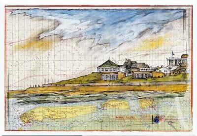"""Postkarte """"Norderney, herbstlich"""""""