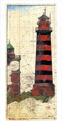 "Postkarte, ""Kap Arkona"" , DIN lang"