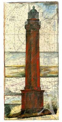 """Postkarte, """"Norderney"""" , DIN lang"""