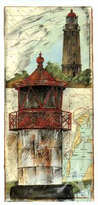 "Postkarte, ""Hiddensee"" , DIN lang"
