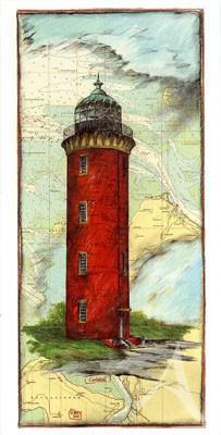 """Postkarte, """"Cuxhaven"""" , DIN lang"""