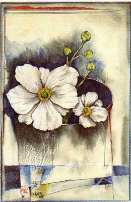 """Postkarte """"Weiß-Montag"""""""