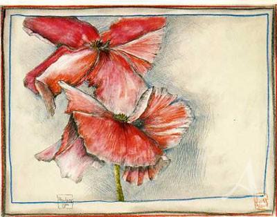 "Postkarte ""Montag 10.46h"""