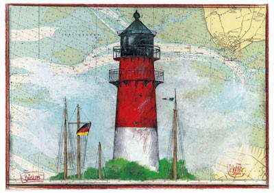 "Maxi- Postkarte, ""Büsum"""