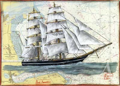"Postkarte ""Roald Amundsen"""