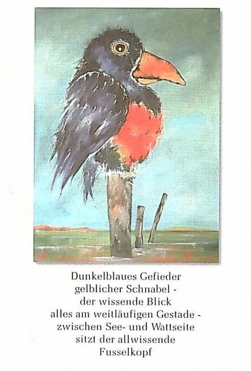 """Postkarte """"Fusselkopf"""""""