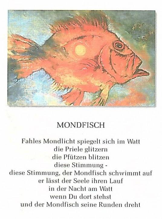 "Postkarte ""Mondfisch"""