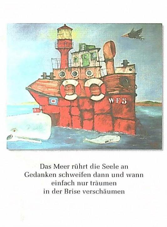 """Postkarte """"Das Meer"""""""