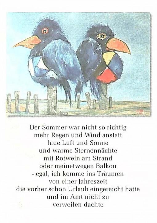 "Postkarte ""Der Sommer"""