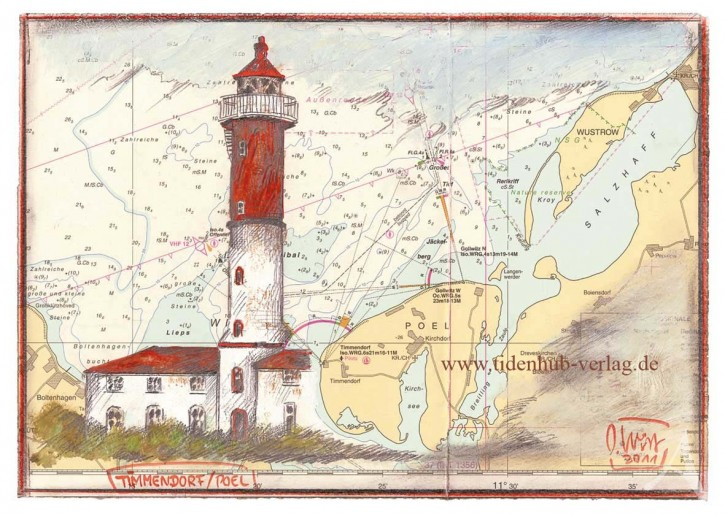 """Postkarte """"Timmendorf - Poel"""""""