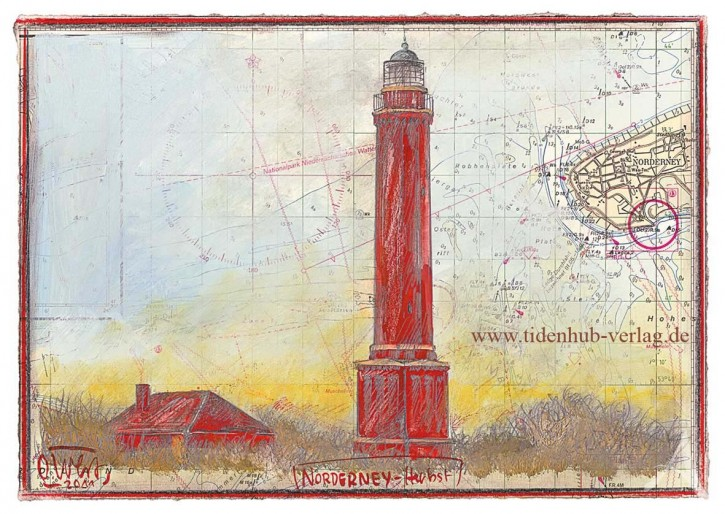 "Postkarte ""Norderney im Herbst"""