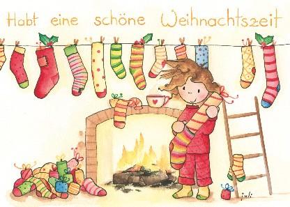 """Postkarte """"Schöne Weihnachtszeit"""""""