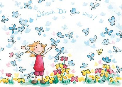 """Postkarte """"Wünsch Dir was!"""""""