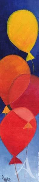 """Lesezeichen """"Luftballons"""""""