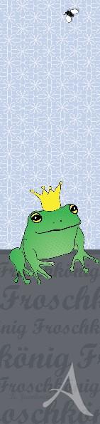 """Lesezeichen """"Froschkönig"""" - Nur noch wenige Exemplare !!"""
