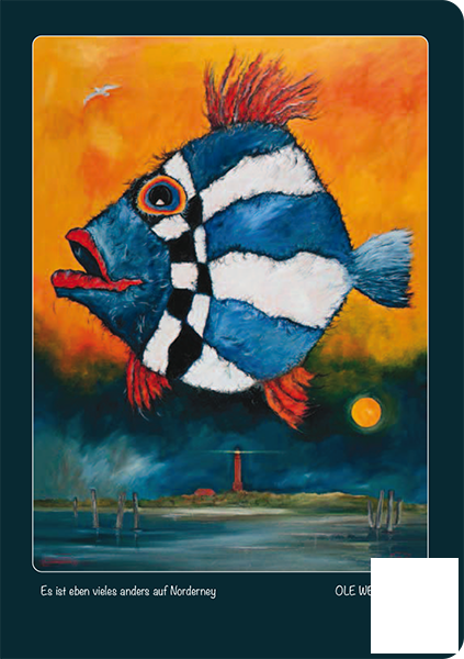 """Notizbuch """"Fisch"""" - Blankbook von OLE WEST"""