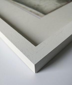 """""""Sylt - Land"""" - GERAHMTER Kunstdruck - HANDSIGNIERT von Ole West - (30 x 40)"""